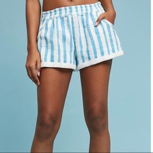 Anthropologie Lilka striped shorts